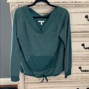 Maurices green sweater.